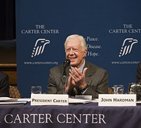 Jimmy Carter at Carter Center